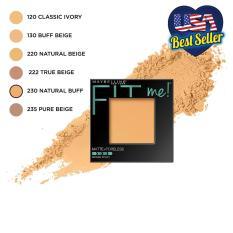 Phấn mịn lì tiệp màu da Maybelline New York Fit Me Matte And Poreless màu 230 Natural Buff 8.5g
