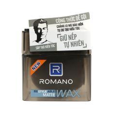 Romano - Sáp Tạo Kiểu Tóc Tự Nhiên Romano Matte 68g