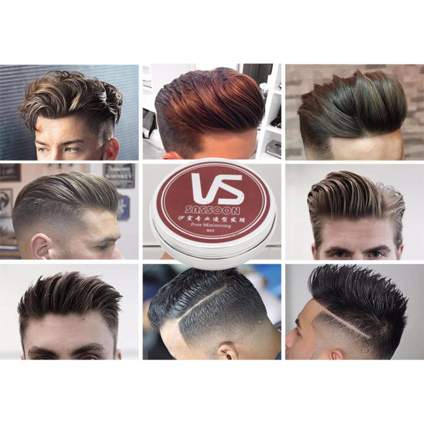 Sáp vuốt tạo kiểu tóc cho nam đầy phong cách VS