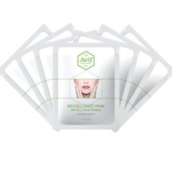 Set 07 Mặt Nạ Avif Biocell Hydrating Face Mask Dưỡng Ẩm Da 7gói*23g