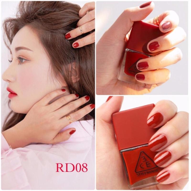 Sơn Móng Tay 3CE Red Recipe Long Lasting Nail Lacquer 10ml #RD08 tốt nhất