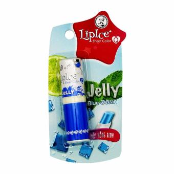 Son Thạch Lipice Sheer Color Q Jelly Có Màu Blue Ocean 4,3g