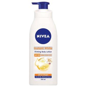 S���a d�����ng th��� d�����ng tr���ng da Nivea Instant White SPF30 350ml