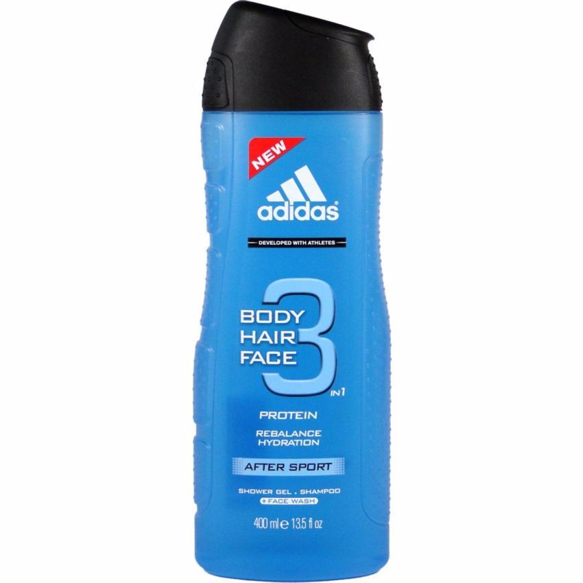 Sữa tắm gội rửa mặt 3 trong 1 cho nam 400ml Adidas 3 in 1 after sport