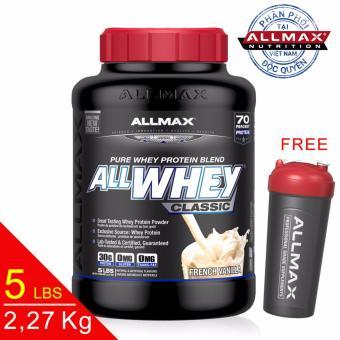 Thực phẩm bổ sung thể thao cao cấp Allmax Allwhey Classic Vanilla 5 lbs
