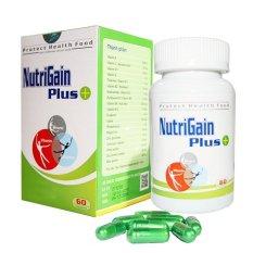 Giá Sốc Thực phẩm chức năng Tăng Cân – Nutrigain Plus+ 60 viên