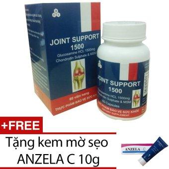 Viên nang hỗ trợ điều trị xương khớp JOINT SUPPORT J001 60 viên + Tặng 1 tuýp kem mờ sẹo ANZELA C 10g