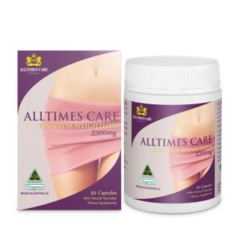 Nơi bán Viên uống giảm cân Alltimes Care Platinum Weightloss 3300mg 50 viên tặng áo mưa  uy tín 387.000 đ