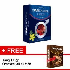 Cập Nhật Giá Viên Uống Tăng Cường Sinh Lý Nam Omexxel Hộp 30 + Viên Tặng 1 Hộp Ali 10 Viên Trị Giá 210.000đ