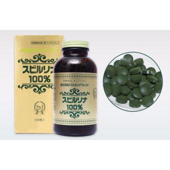 Vitamin Chiết Xuất Tảo Xoắn Nhật Bản 2200 Viên