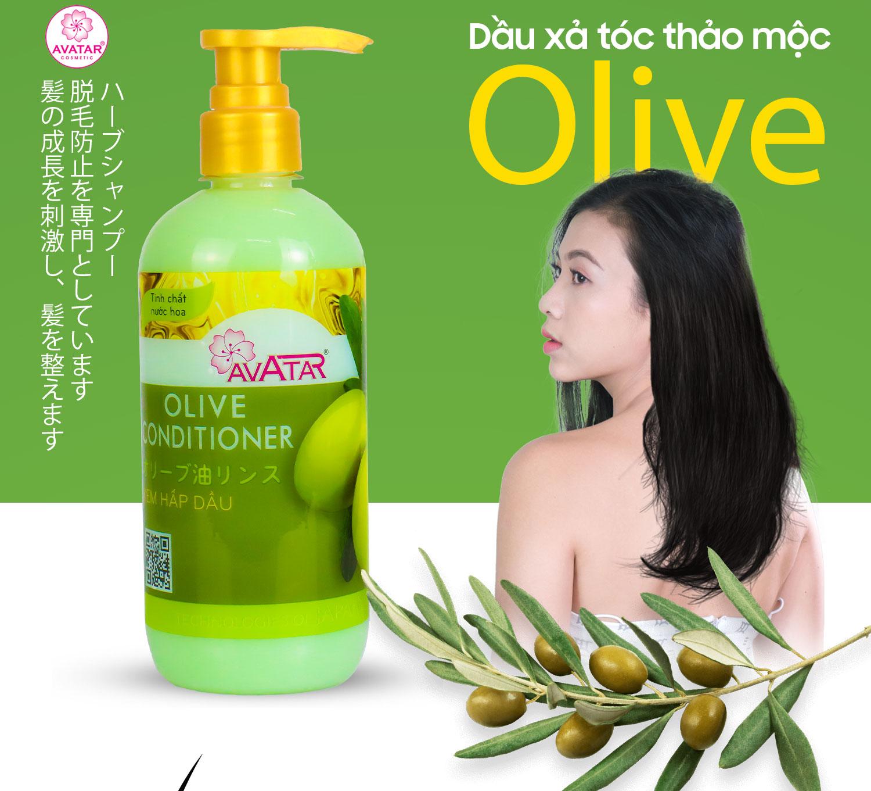 Kem hấp dầu Olive Avatar 500ml Nuôi dưỡng tóc Chắc khỏe Chống gãy rụng Tóc Dài Suôn Mềm mượt thumbnail
