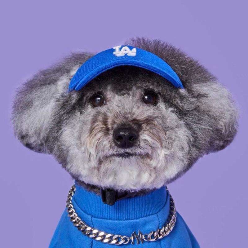 Mũ MLB mẫu chữ LA, NY cao cấp 2 màu xanh, hồng mua săn sale. Giá gốc 4xx