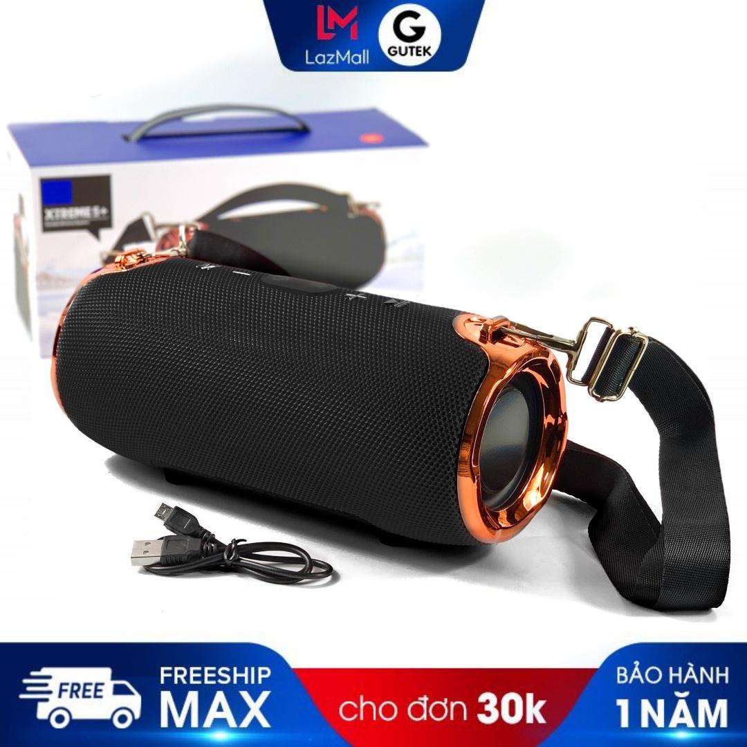 Hình ảnh Loa bluetooth không dây GUTEK Xtreme 5 siêu bass, vỏ chống bụi chống thấm nước có móc dây đeo, âm thanh trong bass siêu trầm, siêu công suất