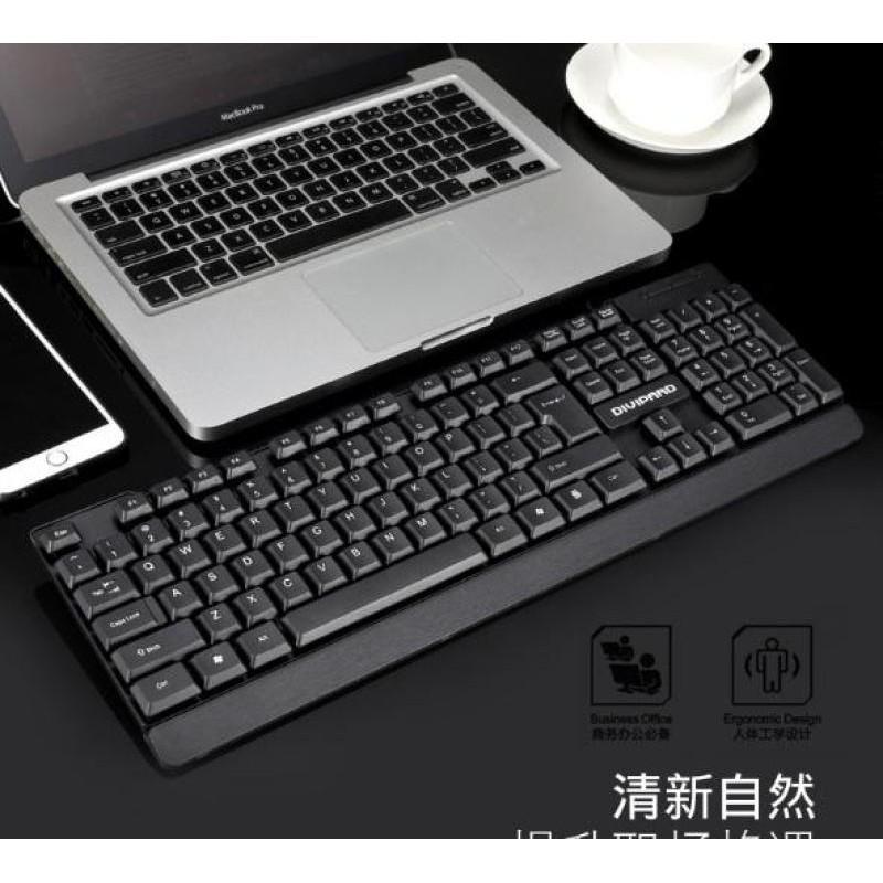Bàn phím máy tính Gaming Fortech KB132 Gold Tech Gipco hàng cao cấp bảo hành đổi mới
