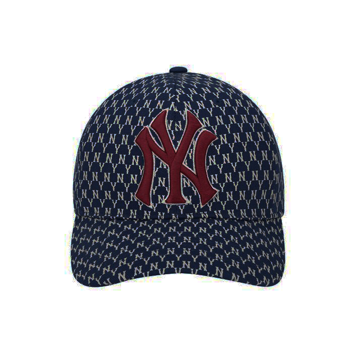 [HCM]Mũ lưỡi trai MLB New York Yankees Adjustable Mono CAP - MÀU XANH ĐEN