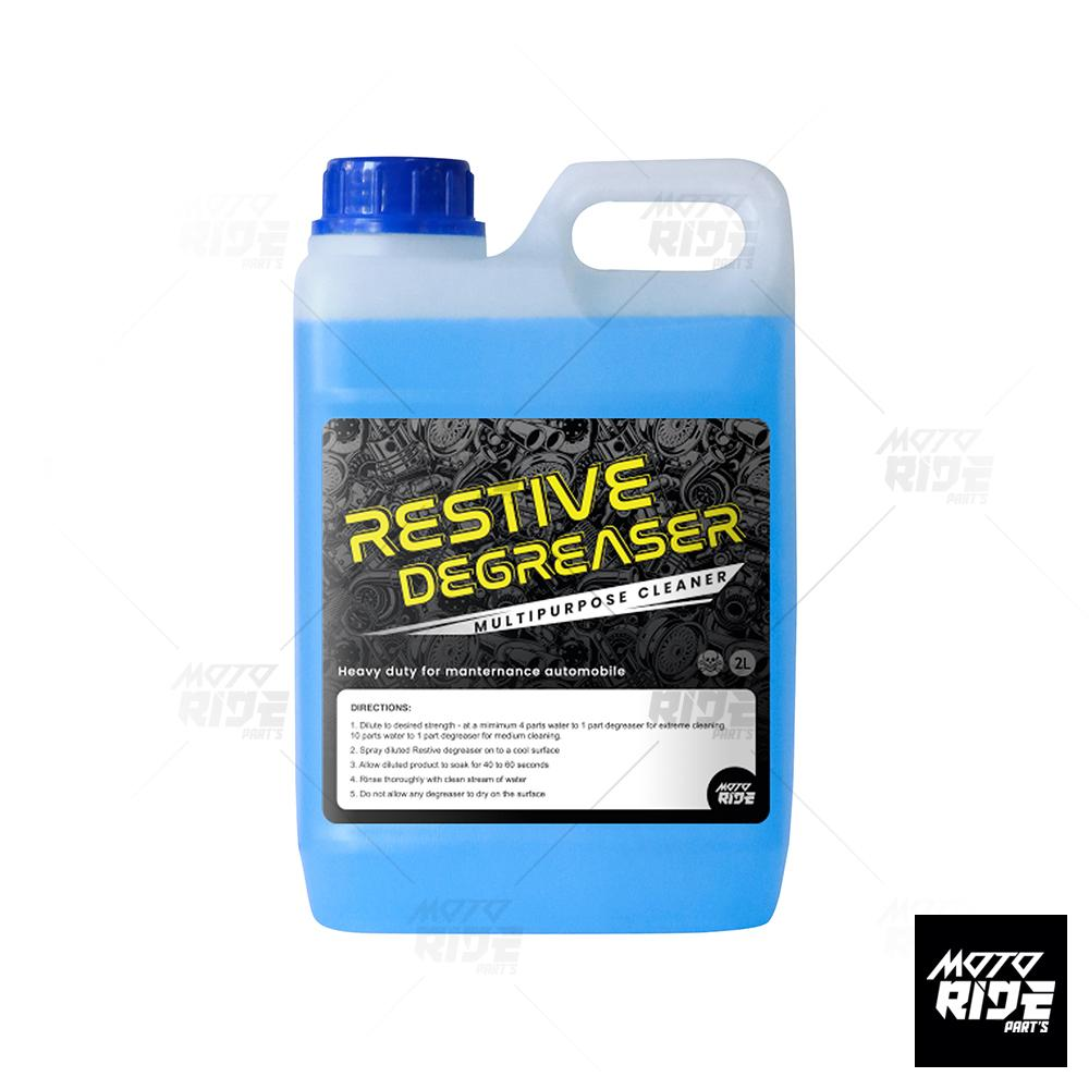 DUNG DICH TẨY RỬA VỆ SINH XE RESTIVE DEGREASER 2L