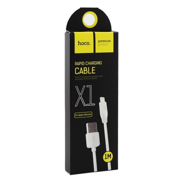 Cáp sạc Lightning Hoco X1 cho iPhone/iPad dài 3M dây sạc chắc chắn, tiện lợi