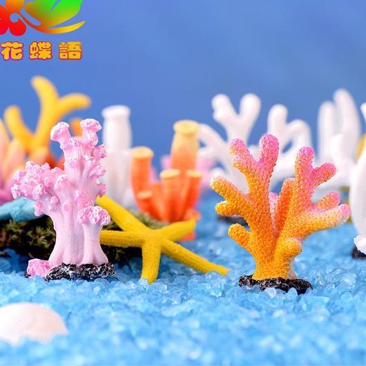 Phụ kiện tiểu cảnh San Hô trang trí bể cá, thủy sinh, terrarium, sen đá, xương rồng