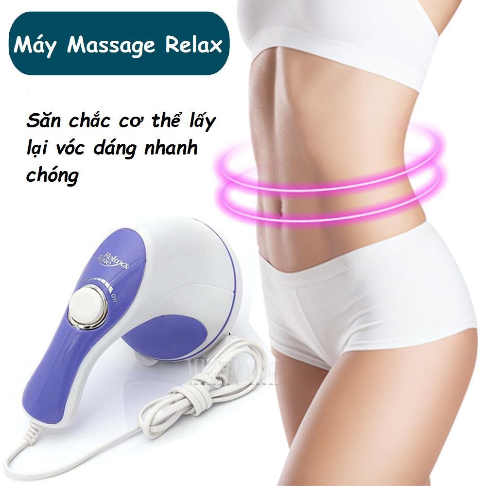 Massage Cầm Tay Relax, Máy đánh mỡ bụng, Mát xa cầm tay loại xịn, Massage Toàn Thân Giá Rẻ, Máy Đấm Lưng - Giúp Xoa Bóp Thư Giãn Cơ, giảm các cơn Đau Nhức toàn thân– Uy tín chất lượng, sale 50%.