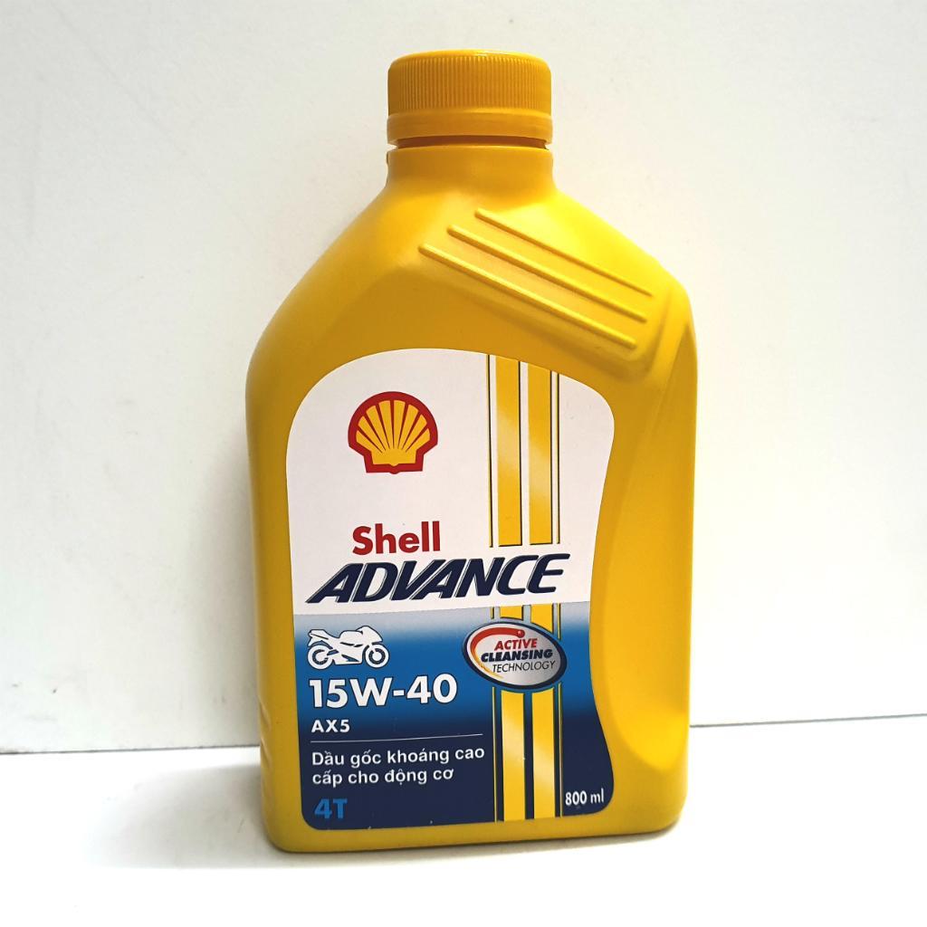 NHỚT XE SỐ SHELL ADVANCE AX5 800ML