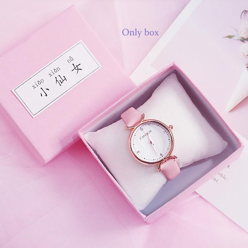 [Hot Bán] Eooshop Tiên hồng Gift Box trí Box Bracelet Box Xem Box Birthday Gift Box 2021 New 7
