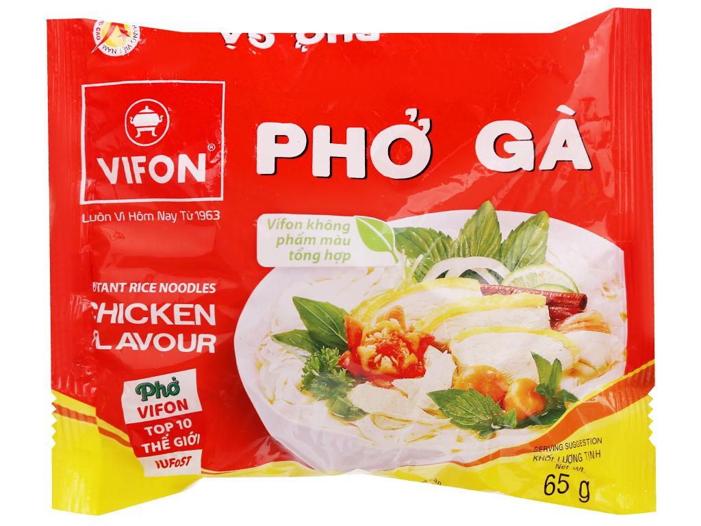 Phở Bò,Gà VIFON 65g/Gói (Phở Gà)