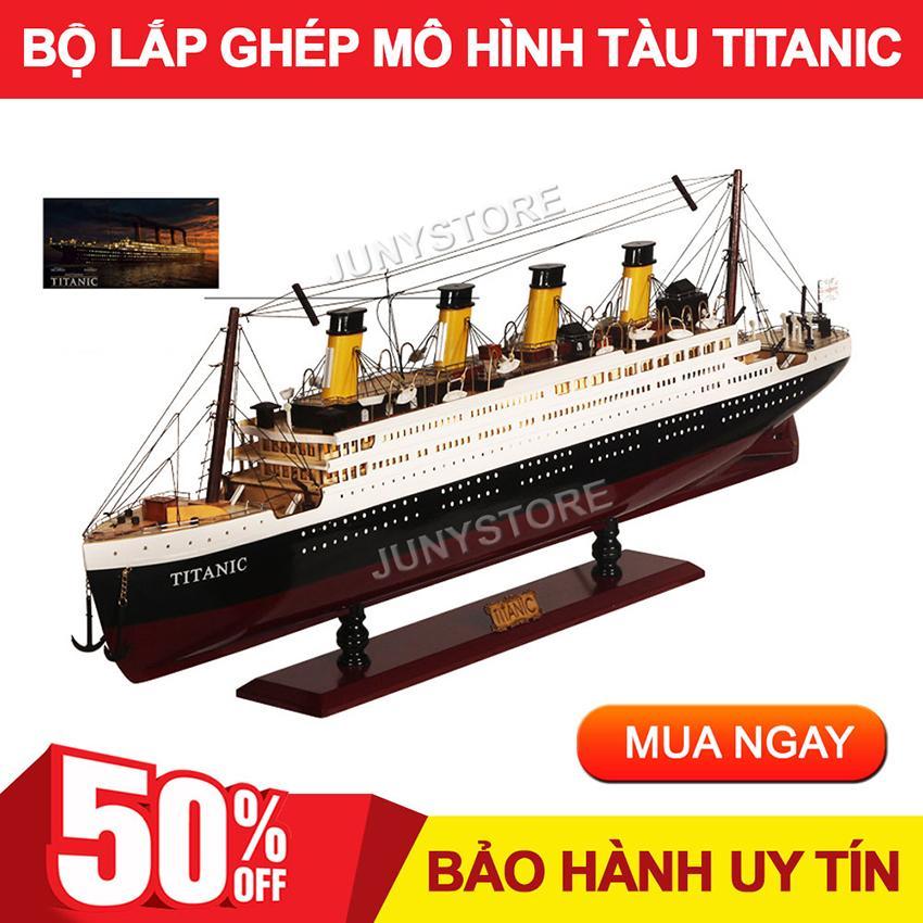 Bộ Mô Hình Lắp Ráp Tàu Titanic, Kích Thích Sự Sáng Tạo Tư Duy Logic Và Trí Thông Minh, Rèn Tính Kiên Trì Nhẫn Nại Cho Bé. Bộ Lắp Ghép Tàu Titanic, Mô Hình Tàu Titanic, Bộ Lắp Ghép Sáng Tạo Cho Bé - JUNYSTORE