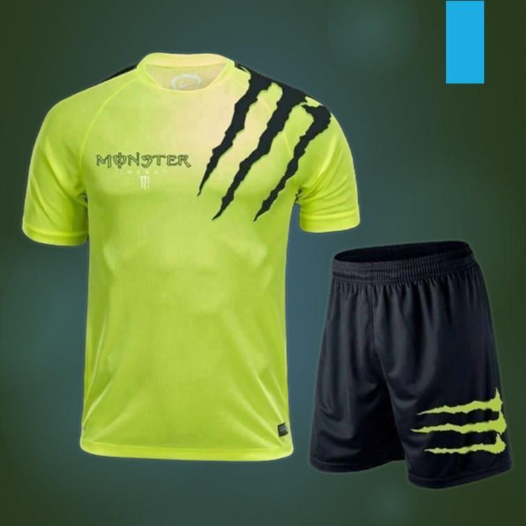 Set đồ bộ quần áo thể thao nam, đồ bộ mặc ở nhà Chất thun thể thao dệt 3D thoáng mát phong cách trẻ trung năng động đầy năng lượng