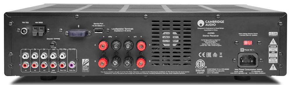 Ampli tích hợp / FM-AM Receiver Cambridge Audio AXR85 (Ảnh 2)