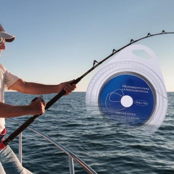 10m 7 Strands Braided High Strength Sea Fishing Steel Wire (40lb) -intl