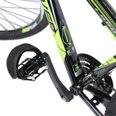 1Pair Fixed Gear Fixie BMX Bike Anti-slip Double Adhesive Straps Pedal Strap Belt Black