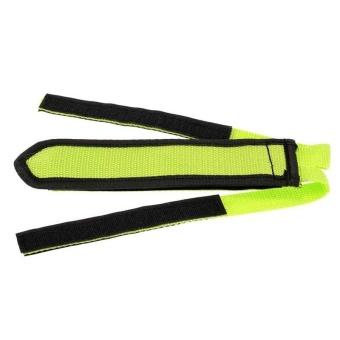 1Pair Fixed Gear Fixie BMX Bike Anti-slip Double Adhesive Straps Pedal Strap Belt Green - intl