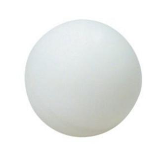 38mm no word white table tennis 144pcs / set - intl