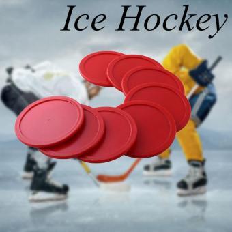 8Pcs 63mm ABS Air Hockey Table Felt Mallet Puck Goalies intl
