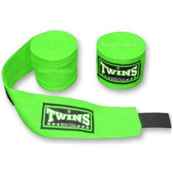 Băng đa quấn tay Twins Kick Boxing Muay MMA (Xanh lá).
