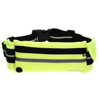 Bang Outdoor Sports Running Pack Portable Waist Bag (Yellow) - intl