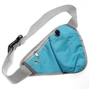 Bang Sports Fanny Pack Cycling Waist Belt Bag (Sky Blue) - intl