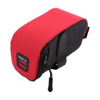 Bang Waterproof Bike Saddle Bag Tail Under Seat Storage Bag (Red) - intl
