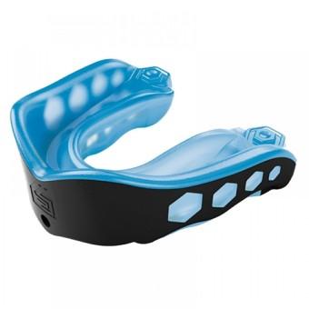 Bảo hộ răng shock docktor gel max mouthguard Shock Doctor (Xanh (Đen)
