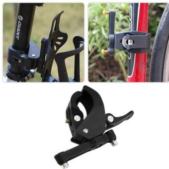 Bike MTB Bicycle Bracket Mount Sports Water Bottle Cage Holder RackClamps Clip - intl ...