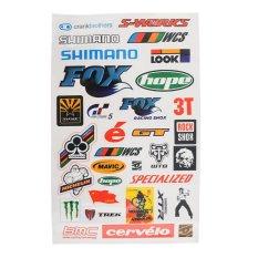 BMX MTB Road Bike Cycling Bicycle Scrapbook Decal Cool Sheet Stickers Sticker - intl