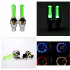 Bộ 2 đèn led gắn van bánh xe đạp ( Giao màu ngẫu nhiên )