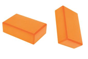 Bộ 2 gạch Yoga bằng xốp EVC (Cam).