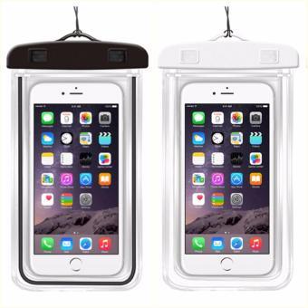 Bộ 2 Túi chống nước an toàn cho điện thoại Iphone 5/6/6Plus (Đen -Trắng)