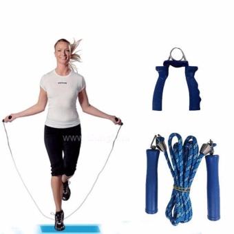 Bộ 4 món dụng cụ tập thể dục đa năng VegaVN cho nữ (Xanh)