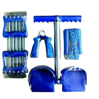 Bộ 4 món dụng cụ tập thể dục tại nhà VegaVN cho nam (Xanh)