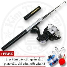 Bộ cần câu cá du lịch (*Kim Thủy) KT Mini M1 Black 100cm