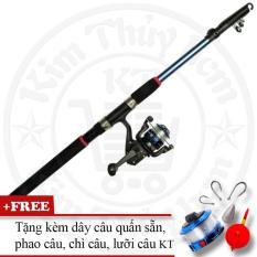 Bộ cần câu cá tiện dụng (*Kim Thủy) KT Blue 2.1M
