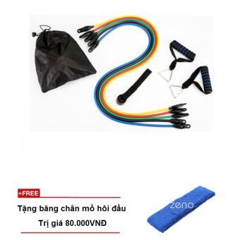 Bộ dây đàn hồi tập thể lực Zeno + tặng băng chắn mồ hôi đầu - 8850768 , ZE104SPAA68T7SVNAMZ-11524298 , 224_ZE104SPAA68T7SVNAMZ-11524298 , 390000 , Bo-day-dan-hoi-tap-the-luc-Zeno-tang-bang-chan-mo-hoi-dau-224_ZE104SPAA68T7SVNAMZ-11524298 , lazada.vn , Bộ dây đàn hồi tập thể lực Zeno + tặng băng chắn mồ hôi đầu