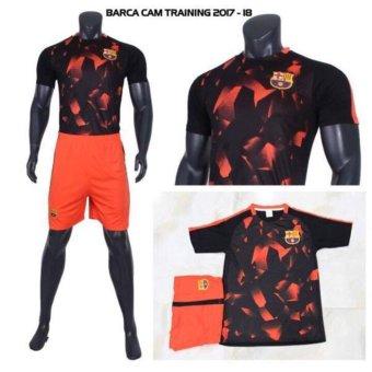 Bộ Đồ Đá Banh Barcelona 2017-2018 CPSports (Cam)